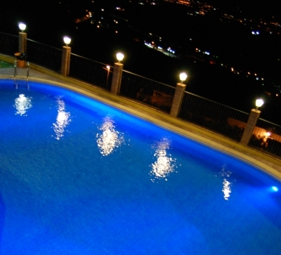 Agriturismo Benessere Trevi piscina esterna panoramica