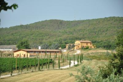 Agriturismo biologico vicino Orvieto appartamenti con camino