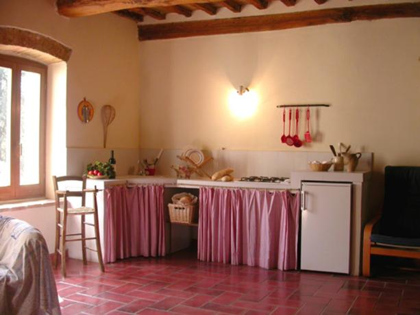 Appartamenti con Cucina Soggiorno vicino Montone Umbria