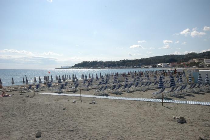 spiaggia convenzionata hotel 3 stelle liguria Varazze