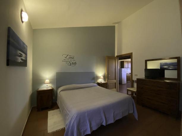 Contadino- CameraMatrimoniale appartamento 54mq x famiglie numerose