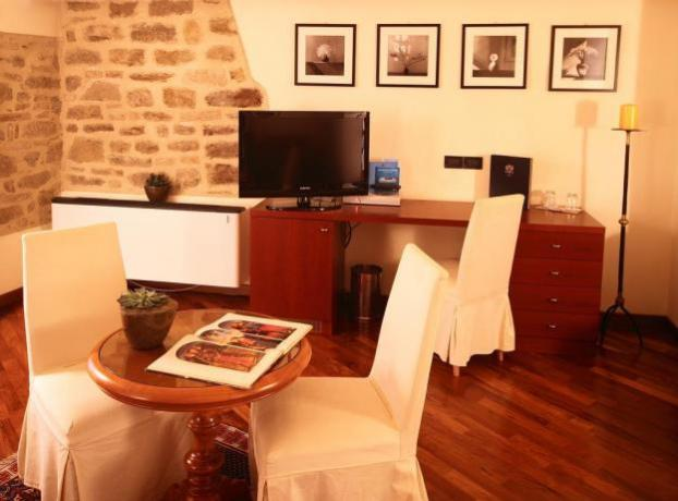 Camere per coppie con salottino ad Assisi