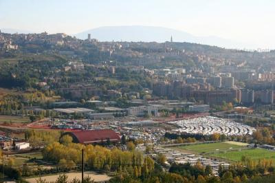 Zona fieristica di Perugia