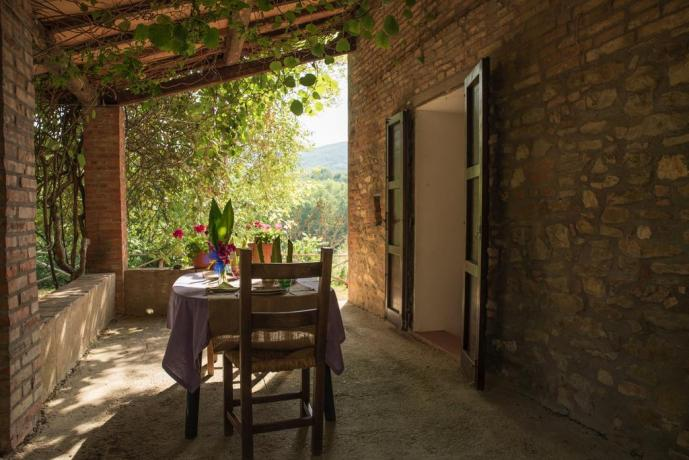 Esterno Casa Caiolo piano Terra in Umbria