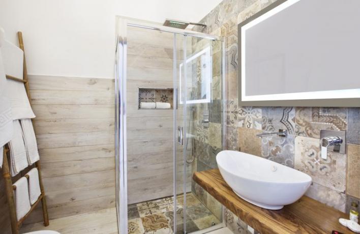 Casa-vacanze Romantic bagno privato box doccia San-Vito-lo-Capo