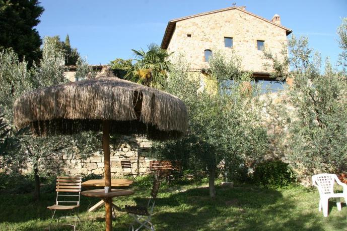 Relais Calenzano area relax in giardino
