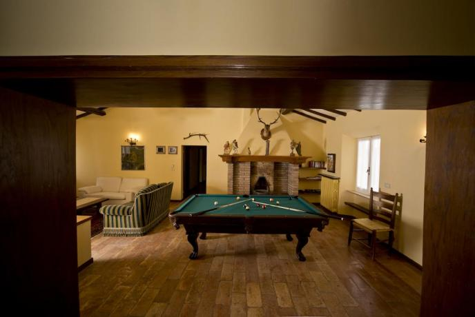 Agriturismo con Sala giochi e relax in Umbria