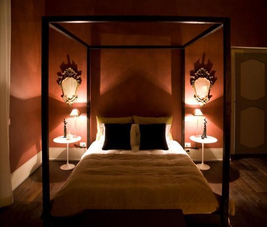 Camera matrimoniale suite Hotel Montefalco