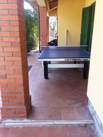 Villa con sala svago per ragazzi ad Arezzo