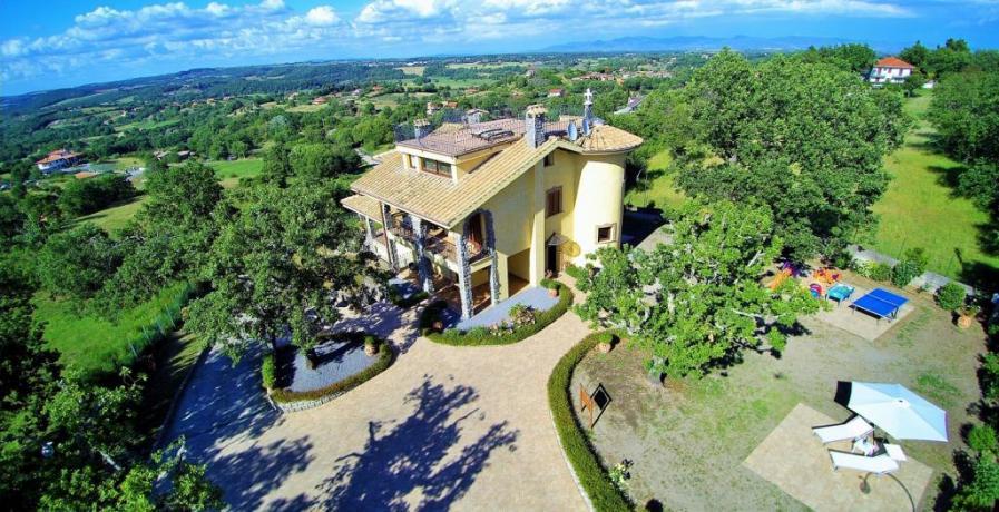 Villa per 20 persone vicino a Roma