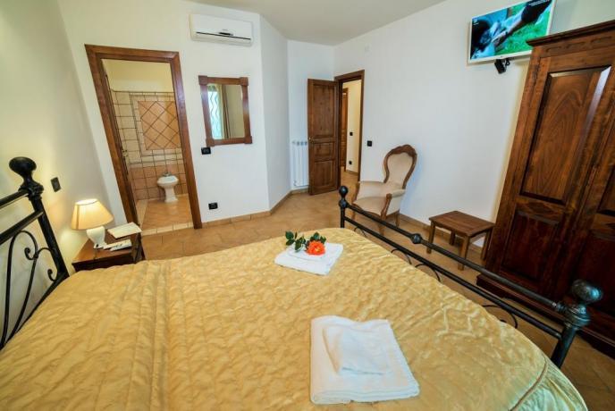 Appartamenti Giallo camera matrimoniale con Bagno