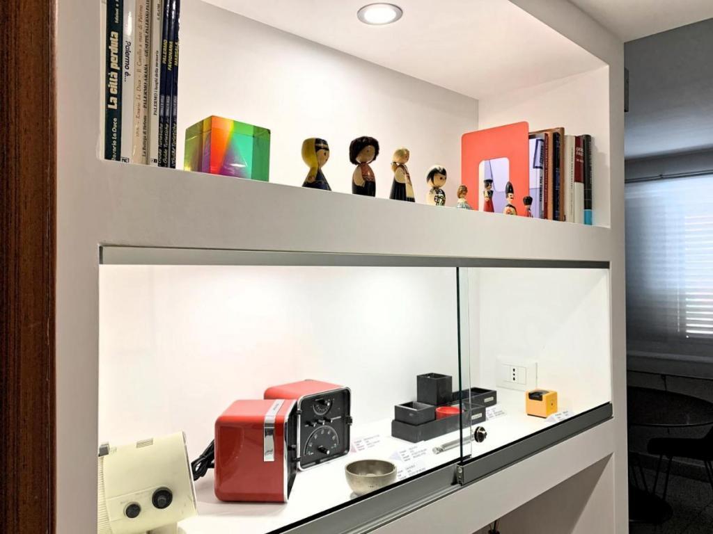 Oggetti design appartamento-vacanze centro di Palermo