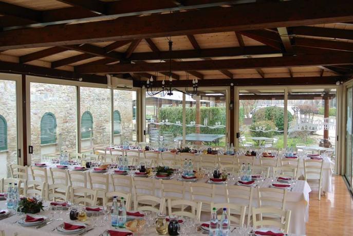 Sala Ristorante con 120 posti a sedere