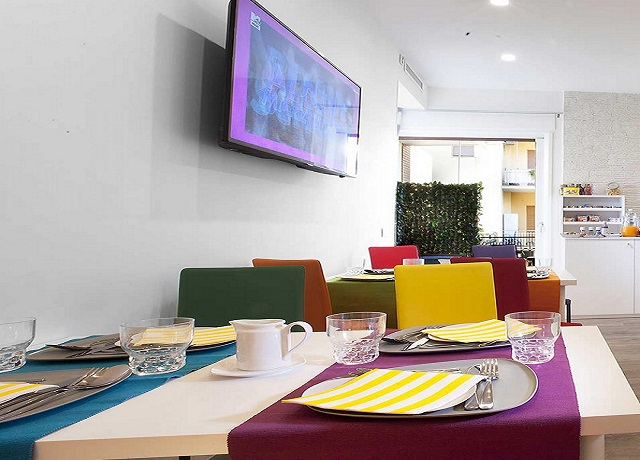 Sala colazioni B&B Romantico Sorrento