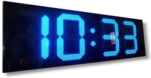 Orologio con display elettronico a led Mod.CDT-79