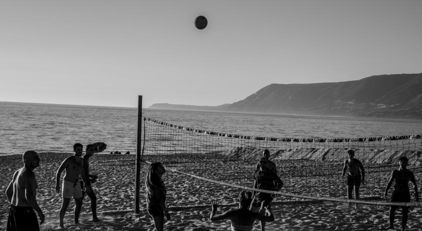 Camping direttamente sul mare, spiaggia di sabbia