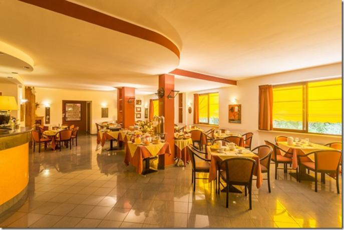 Sala Colazioni e Ristorante, hotel per gruppi
