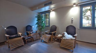 Saletta relax del centro benessere