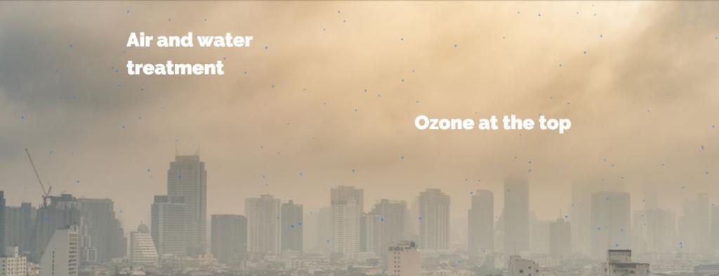 Ozono: soluzione purificazione Aria Ufficio