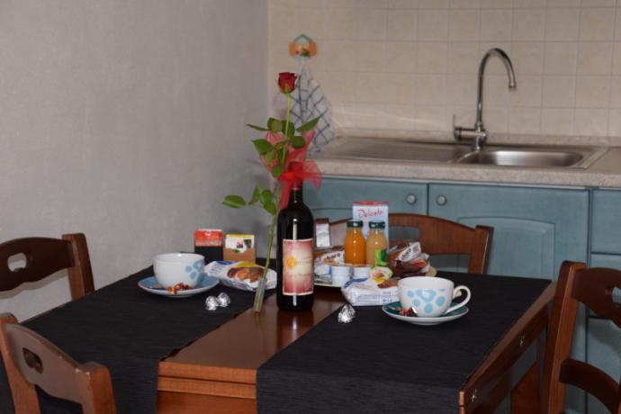 Montebuono, vacanza in appartamento, colazione inclusa