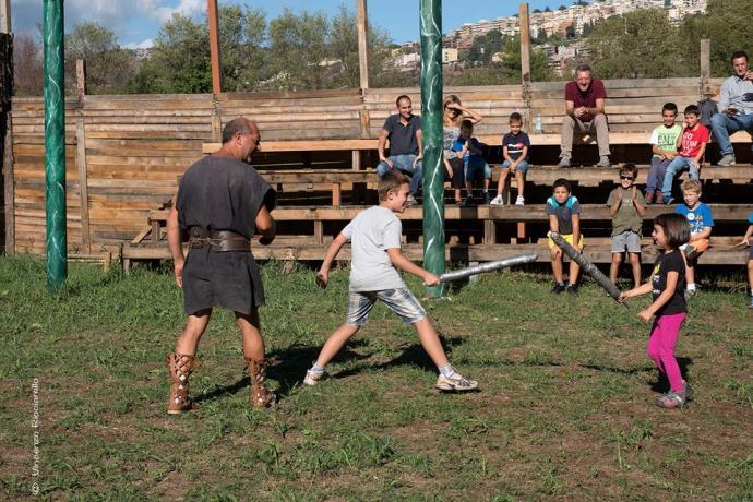 scuola gladiatori e visita al castrum hadriani