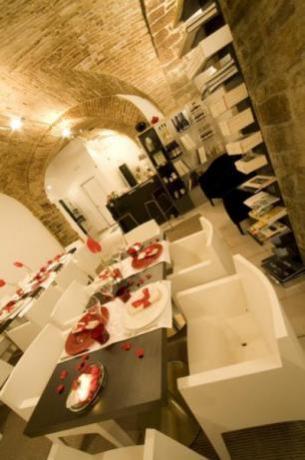 Sala per la prima colazione in centro Assisi