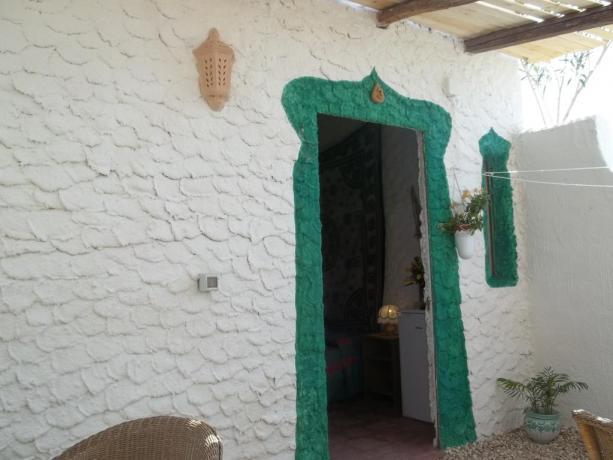 Villaggio con appartamenti vicino Baia di Cala Creta