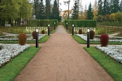 Plafoniere Da Palo Esterno : Pali in policarbonato satinato esterno illuminazione giardino con