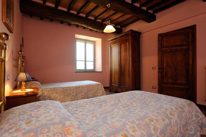 Appartamento La Quercia agriturismo vicino Castiglione del Lago