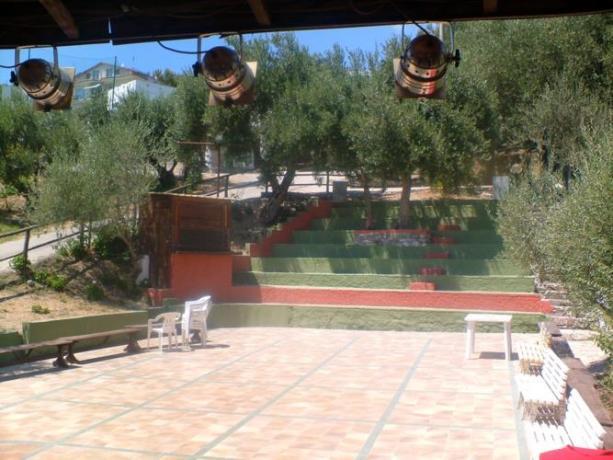 Anfiteatro per Intrattenimento Casal Velino (SA)