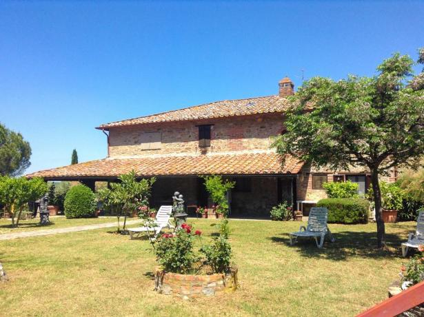 Villa vicino Perugia con giardino