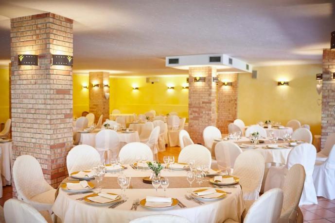 Sala per pranzo laurea e matrimoni a Pellazzano