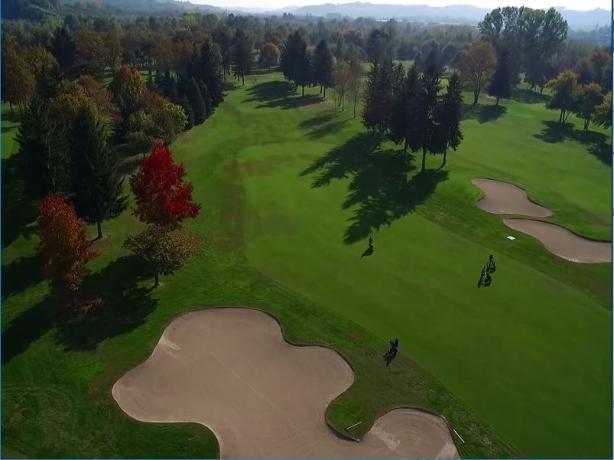 Campo da Golf  vicino Cuneo,Bra,Alba