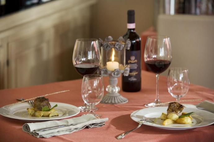 Resort 4 stelle a Spoleto con ristorante romantico