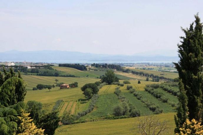 Villa vista Lago Trasimeno Castiglione del Lago