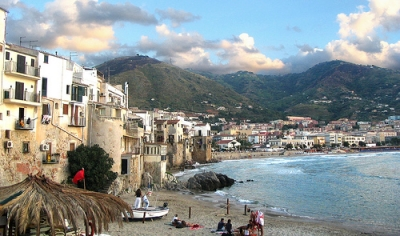 Cefalù beautiful town in Sicily