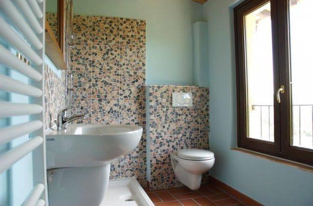 Bagno con box doccia Casale della Quiete