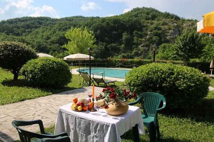 Bilo Grano appartamento nelle Marche con piscina esterna