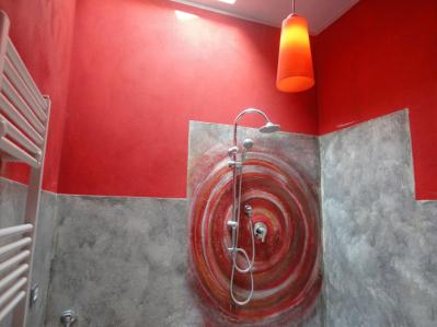 Dettaglio doccia Appartamento Inverno