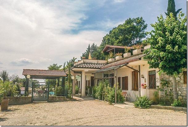 Residenza Podere appartamenti vacanza Perugia parcheggio privato