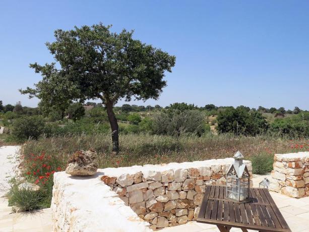 Appartamenti B&B immersi nel verde della Puglia
