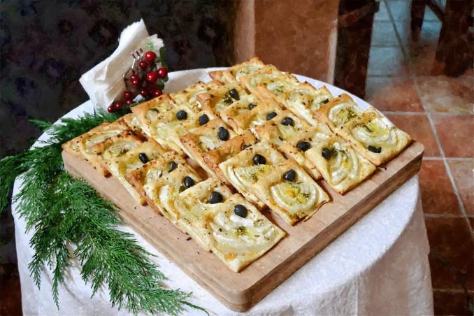 Pizzette salate Casale vicino Orvieto