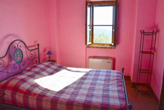 Appartamento matrimoniale rosa a Peugia