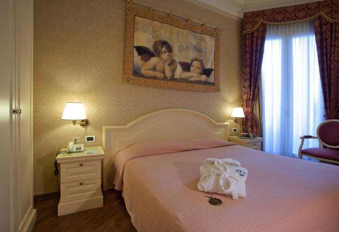 Camera matrimoniale Hotel 4 stelle con Spa