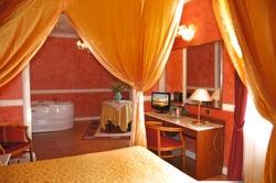 Romantiche Suite con vasca idromassaggio in Umbria