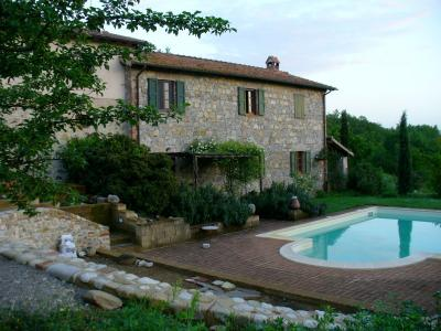 La piscina del Bed and Breakfast a Orvieto