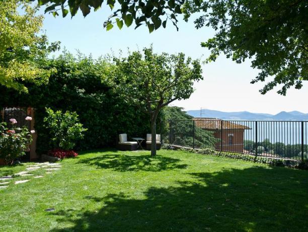 Giardino ideale per relax con vista Lago Trasimeno