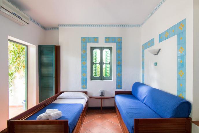 Accogliente camera da letto Appartamenti a Trapani