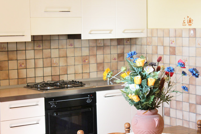 Confortevole angolo per cucinare - App.to Fiordaliso