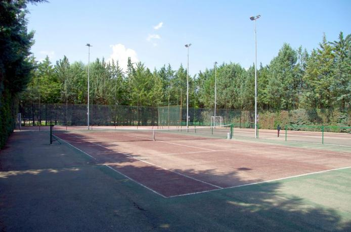 Country House Perugia con Campi da tennis